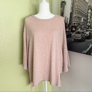 Zara WB collection oversized high low sweater